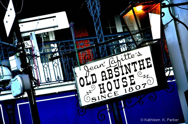Old Absinthe House - ID: 11053414 © Kathleen K Parker
